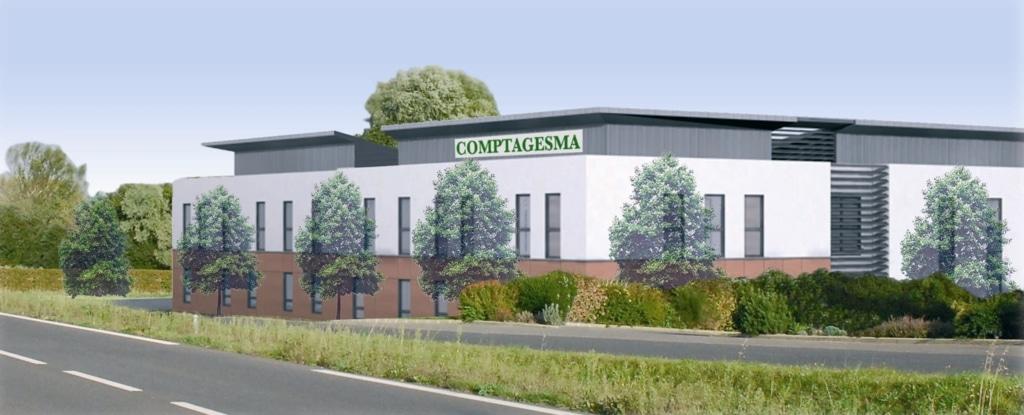 Comptagesma intègre un bâtiment « passif » qui respecte l'environnement