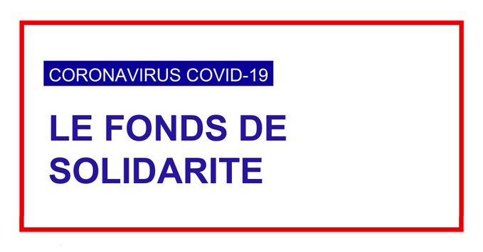 Fonds de solidarité aux entreprises – Covid19